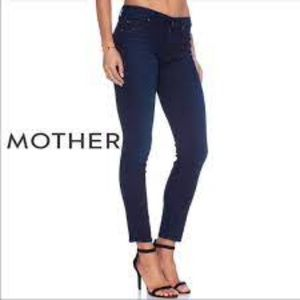 Mother The Muse Ink & Paper Ankle Crop Jeans